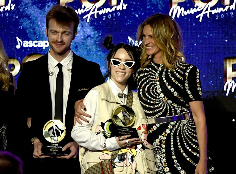 ASCAP Honors: Billie Eilish On 'G's Frank Sinatra, Ariana Grande And Jeff Lynne On Songwriting