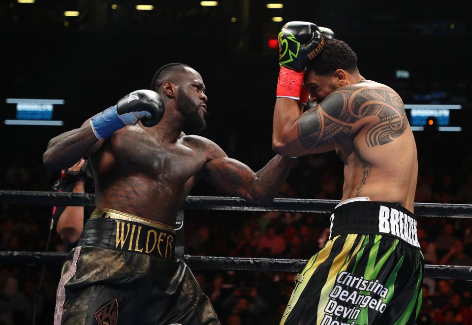 Deontay Wilder Stuns The Boxing World, And Dominic Brezeale, With First-Round Knockout In Brooklyn