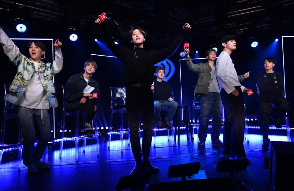 BTS Say They Want To Collaborate With Drake And Coldplay