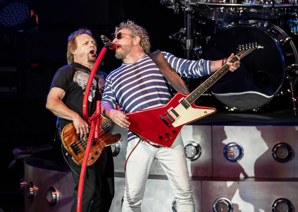 Video Premiere: Sammy Hagar And The Circle Have 'No Worries'