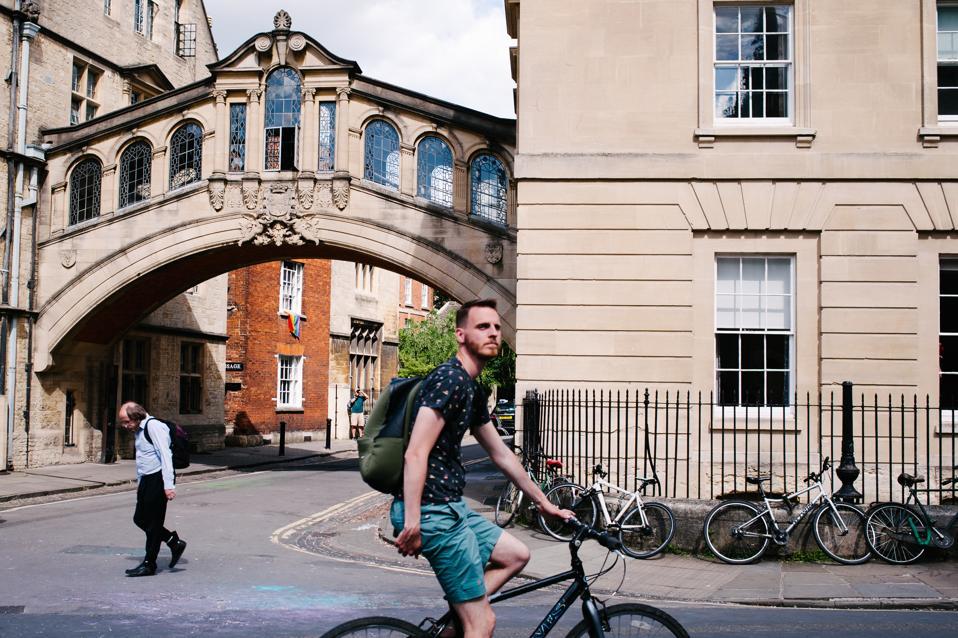Oxford Named World's Best As Rival Slips Down University Rankings