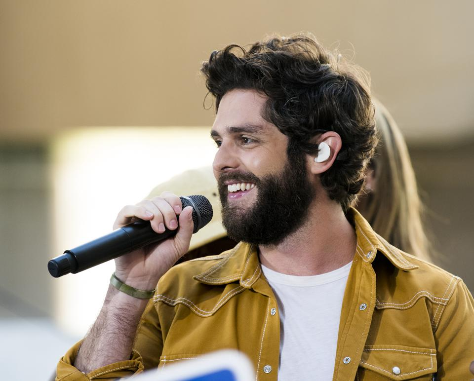 Thomas Rhett Hits No. 1 Again With New Album 'Center Point Road'
