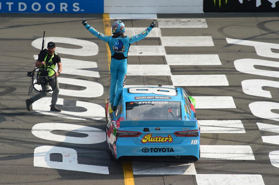 NASCAR's Oscar the Grouch Is Grumbling Again (And He Won This Time)