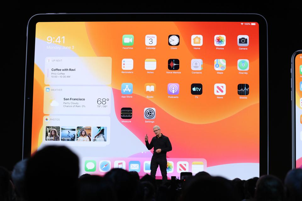 iPadOS Makes Surprise Debut At Apple's WWDC 2019--Here's Everything You Need To Know