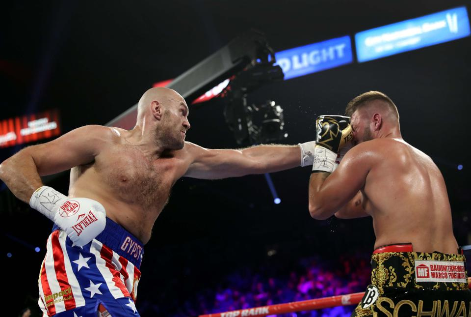 Tyson Fury Vs. Tom Schwarz Results: Winner, KO Highlight, Analysis And Twitter Reaction