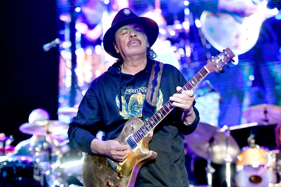 Santana Delivers Message Of Peace And Love Brilliantly In Magical Hollywood Bowl Show