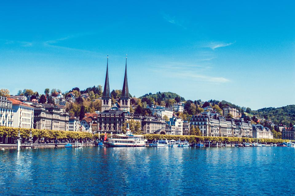 In A Highly Civilized Country Like Switzerland, Lucerne Has Both Historic Beauty And a Calm Quiet