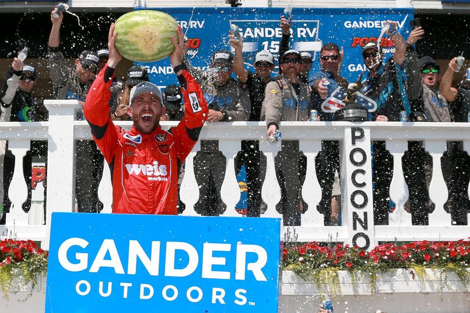 Meet The NASCAR Hotshot Who Drives Hard, And Markets Himself Even Harder