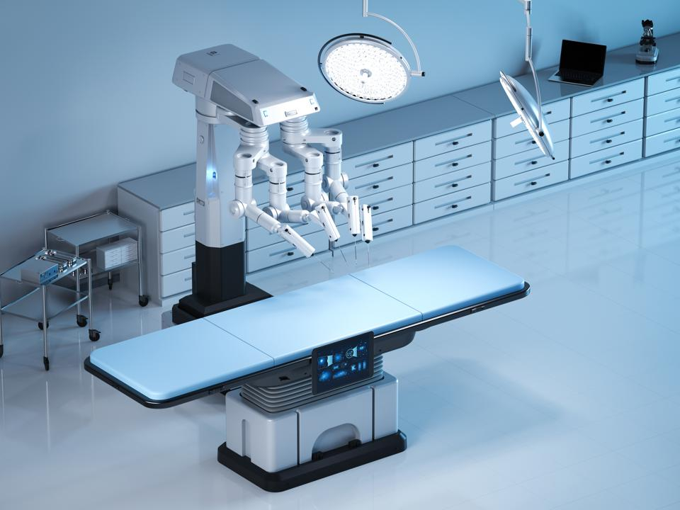 Early Focus On Surgical Robotics Gives Stryker A Leg Up
