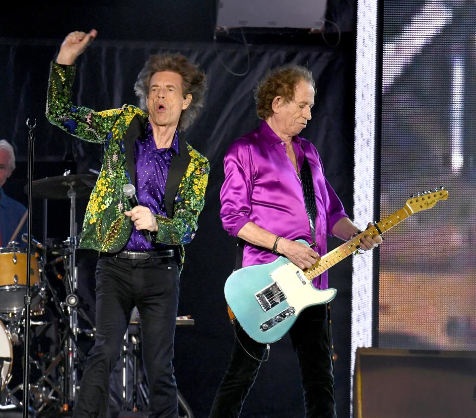 The Rolling Stones Live Up To'World's Greatest Rock And Roll Band' Moniker At Rose Bowl
