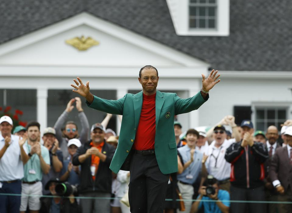 Through Hard Work And Perseverance, Tiger Woods Rewrites His Narrative