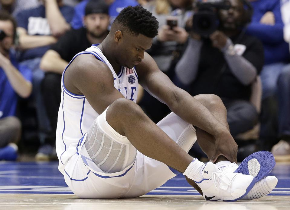 Backlash Aimed At Nike Over Zion Williamson's Blown Shoe Is Overblown