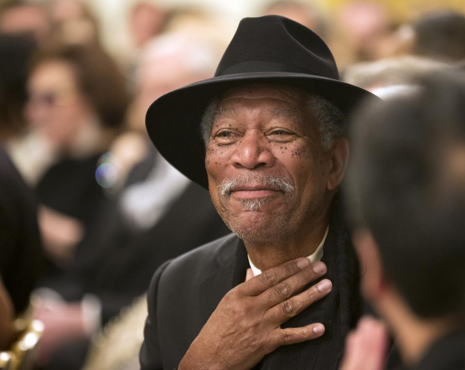 Morgan Freeman Converted His 124-Acre Ranch Into A Giant Honeybee Sanctuary To Save The Bees