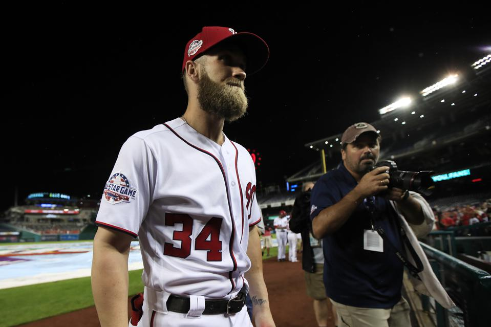 A Look Back At Bryce Harper's Past Performances In His Most Likely Landing Spots