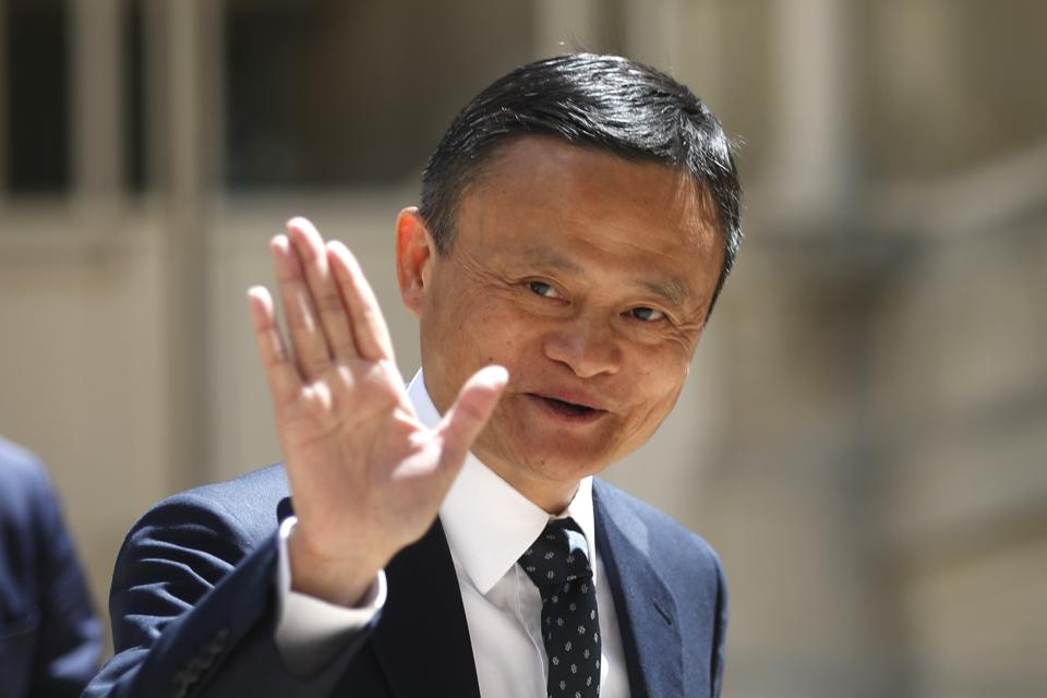Alibaba Plunge Slices $1.5 Bln From Jack Ma's Fortune