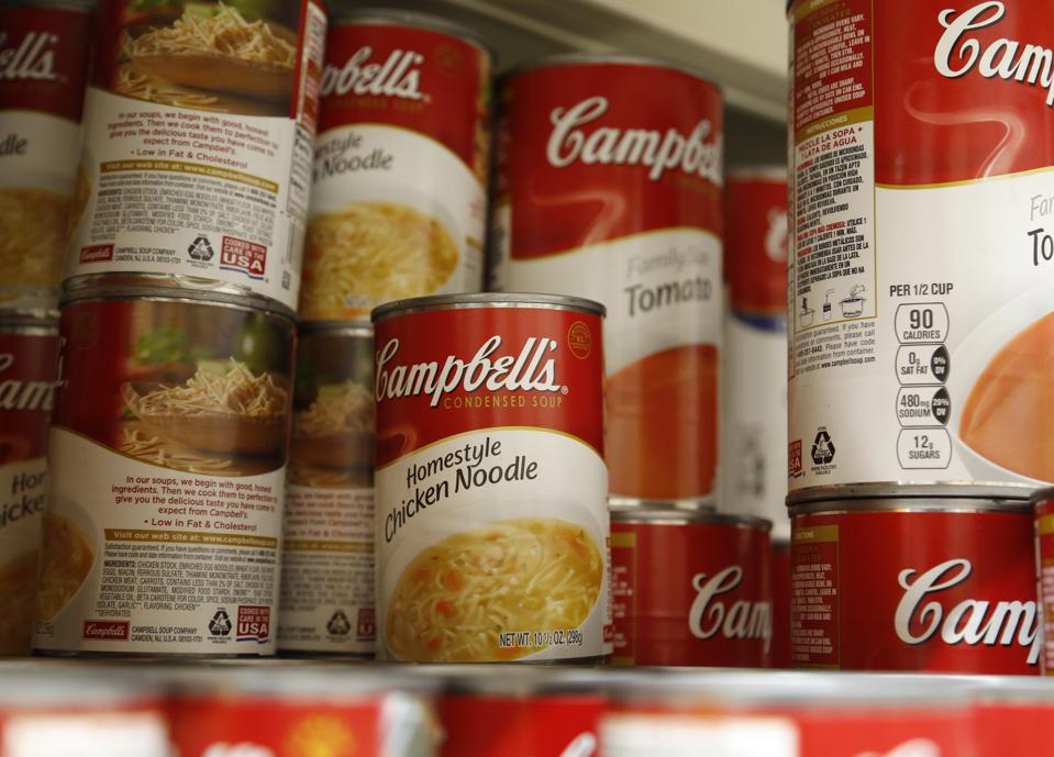 campbell soup accounting fraud