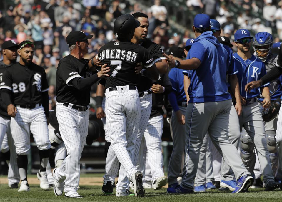 When Baseball Tempers Get Hot: Words, Not Fists, Cause The Damage