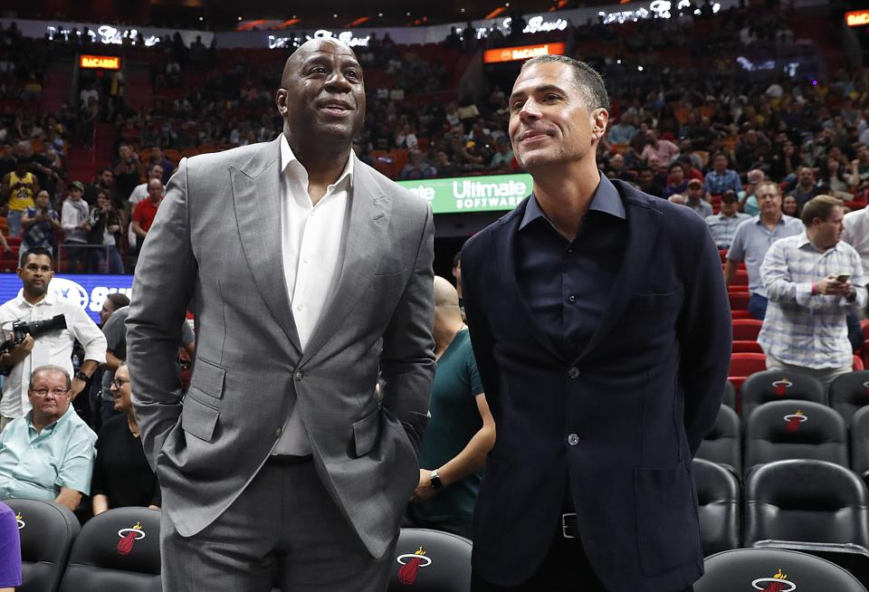 Science Shows How The Los Angeles Lakers Should Be Responding To Magic Johnson's Comments