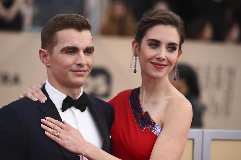 Alison Brie And Dave Franco Turn Airplane Rides Into Date Nights