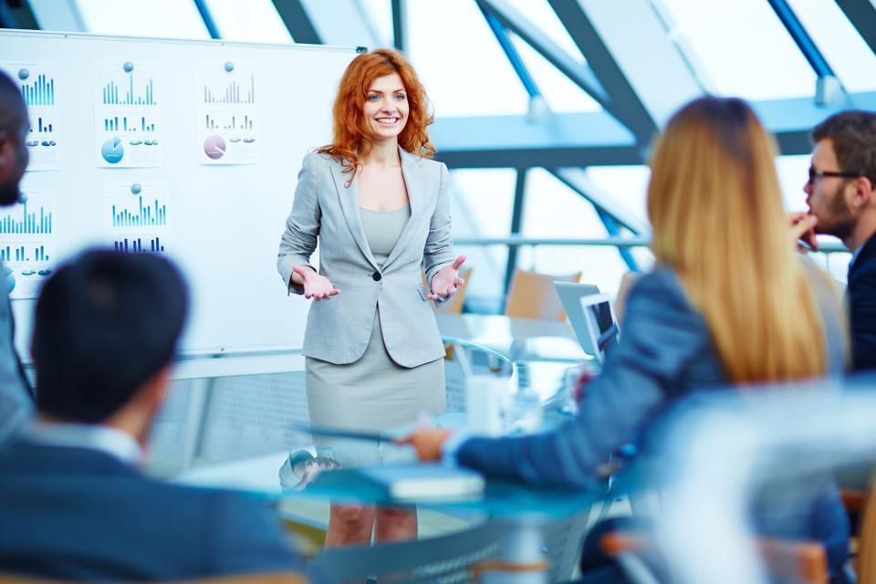 The Key To Presenting To Senior Executives