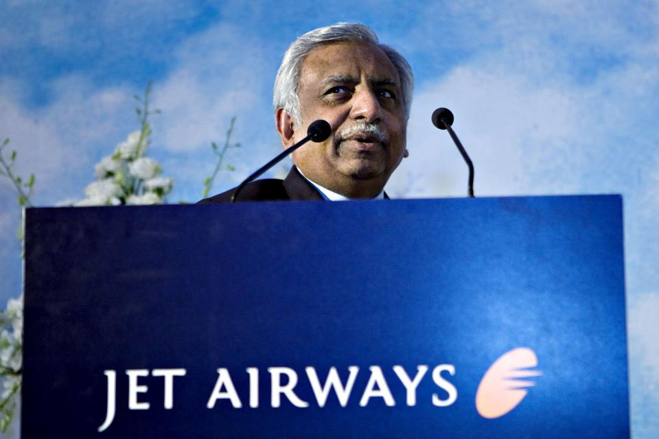Chairman Naresh Goyal Steps Down From Jet Airways, Opening The Door To A Rescue