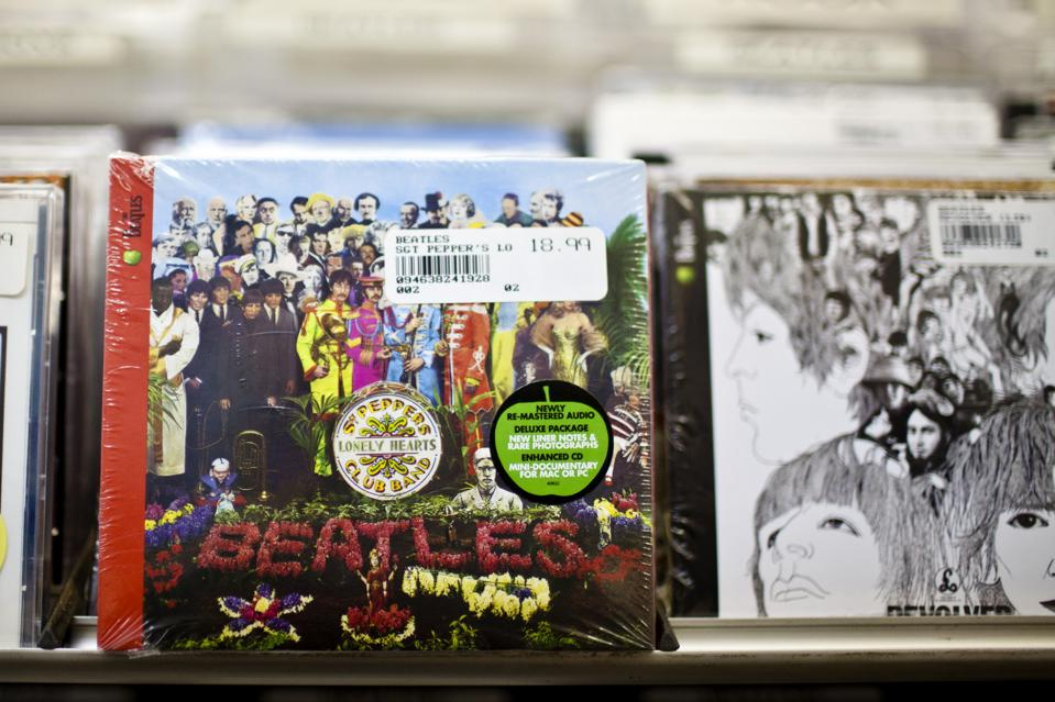 The Beatles Beat Adele, Oasis, Pink Floyd, For Biggest British Album