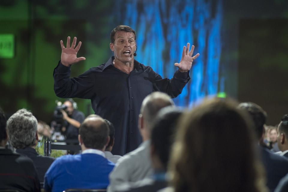 Tony Robbins Is An Even Bigger Jerk Than You Thought, But You Can Still Learn From Him