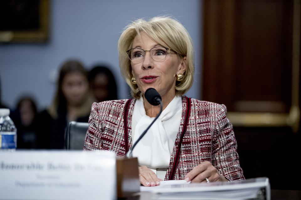 The Truth About DeVos' Order On Colleges' Middle East Curriculum