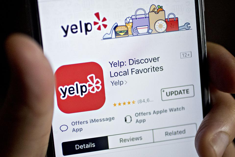 Yelp App for iPhone