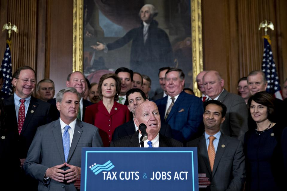 New Study Uncovers Secrets In Pending Tax Bill