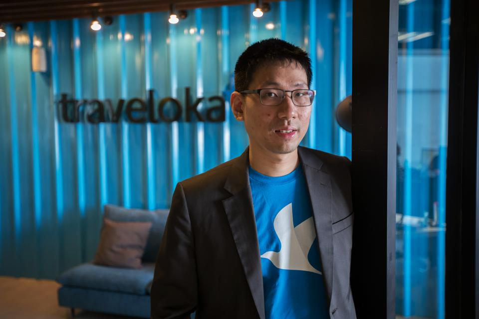 Traveloka CFO Henry Hendrawan pictured at the Indonesian travel company's Jakarta offices. Image: Graham Crouch/Bloomberg