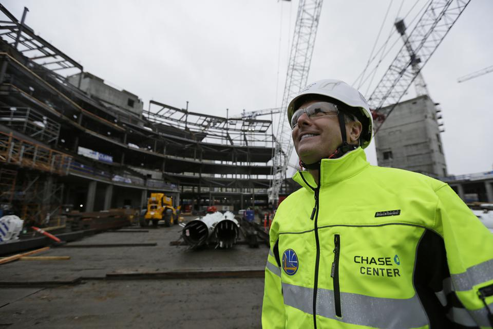 Golden State Warriors President Rick Welts On Achieving The Vision For The Chase Center