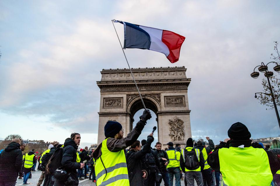 The Yellow Vests Don't Need Cheaper Gas, They Need A New Deal For The Entrepreneurial Age