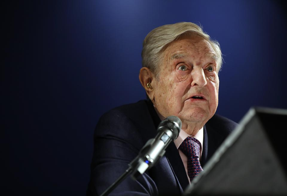 Billionaire George Soros: China's Use Of AI To Control Citizens Is A 'Mortal Threat'