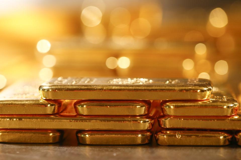 Gold Correction Underway