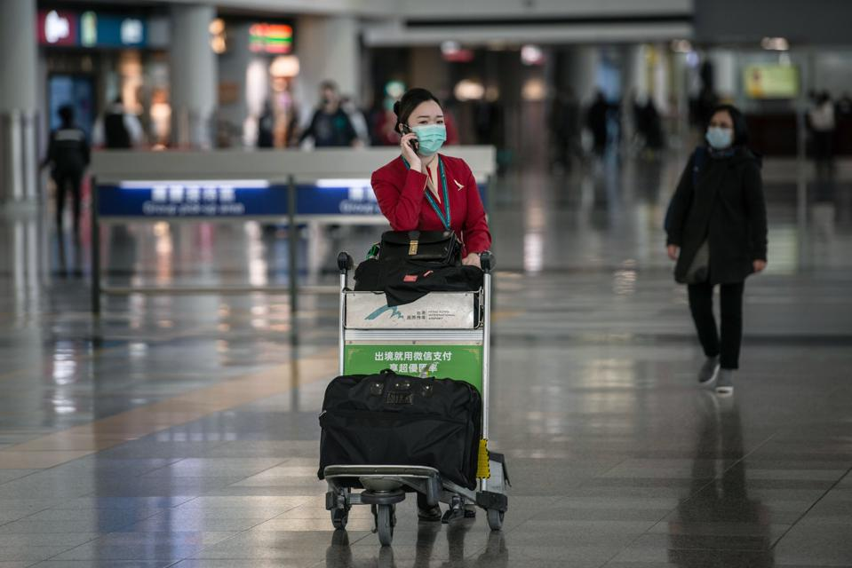 "Cathay Pacific Airways Sees ""Crisis"" As Coronavirus Reduces Traffic"