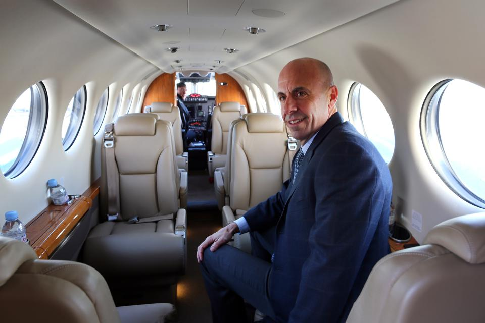 Here's Why Your Next Private Jet Flight Might Be On A Turboprop