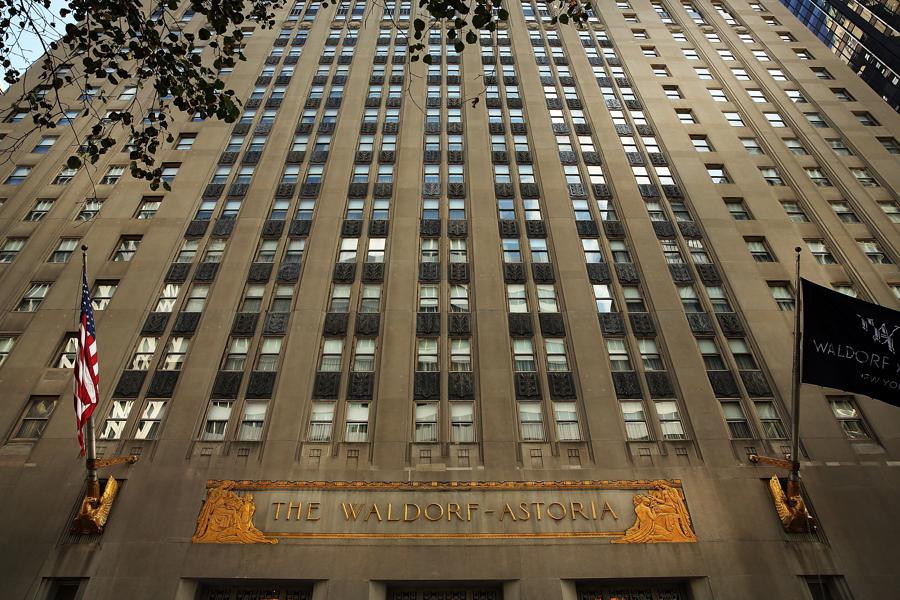 Will the Waldorf be China's Rock Center?