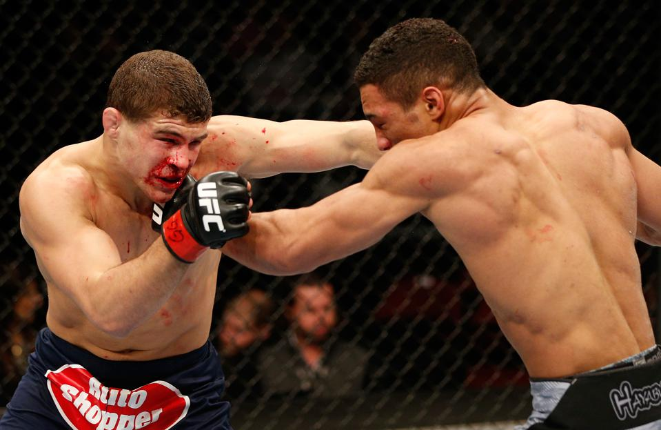 UFC On FOX 31 Full Fight Video: Watch Kevin Lee And Al Iaquinta's First Meeting From 2014