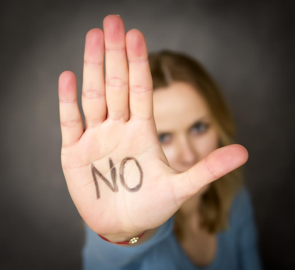 How Entrepreneurs Can Just Say No
