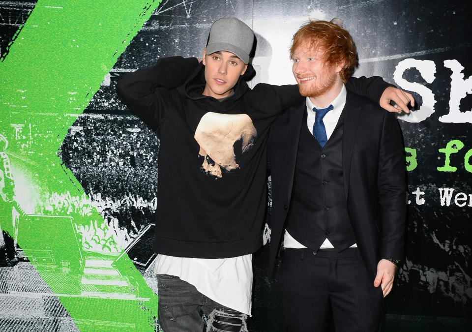 Ed Sheeran And Justin Bieber's 'I Don't Care' Has Broken A Massive Record On Spotify