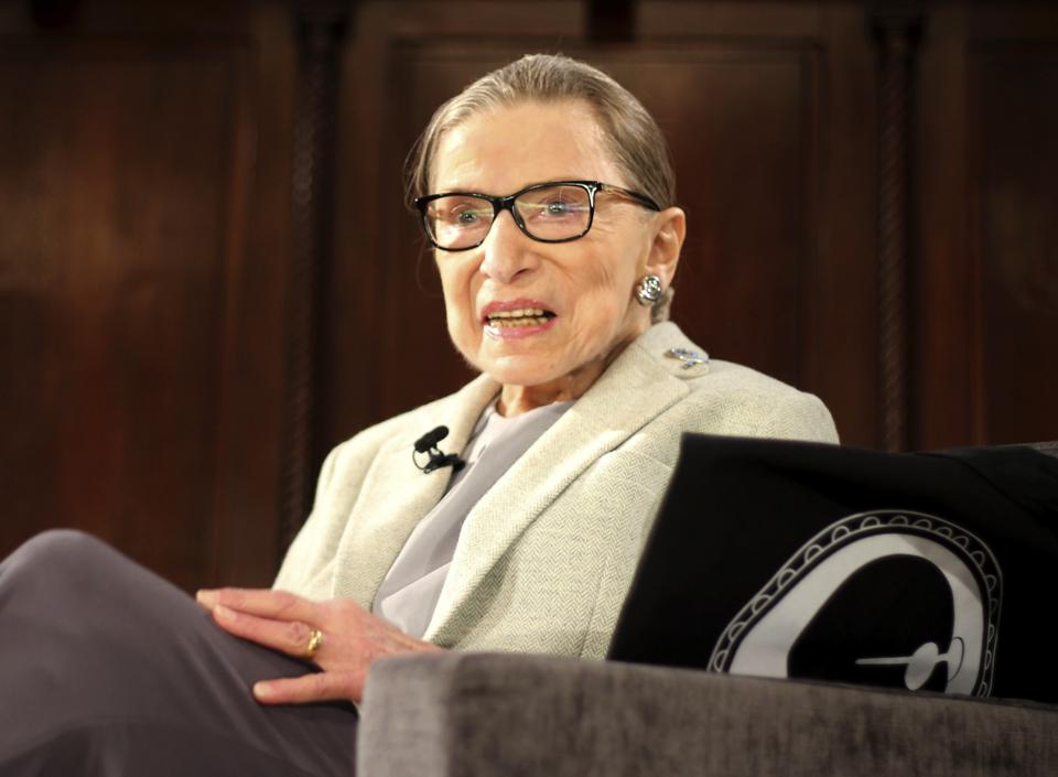 How RBG Changed Work For Women -- And Men, Too