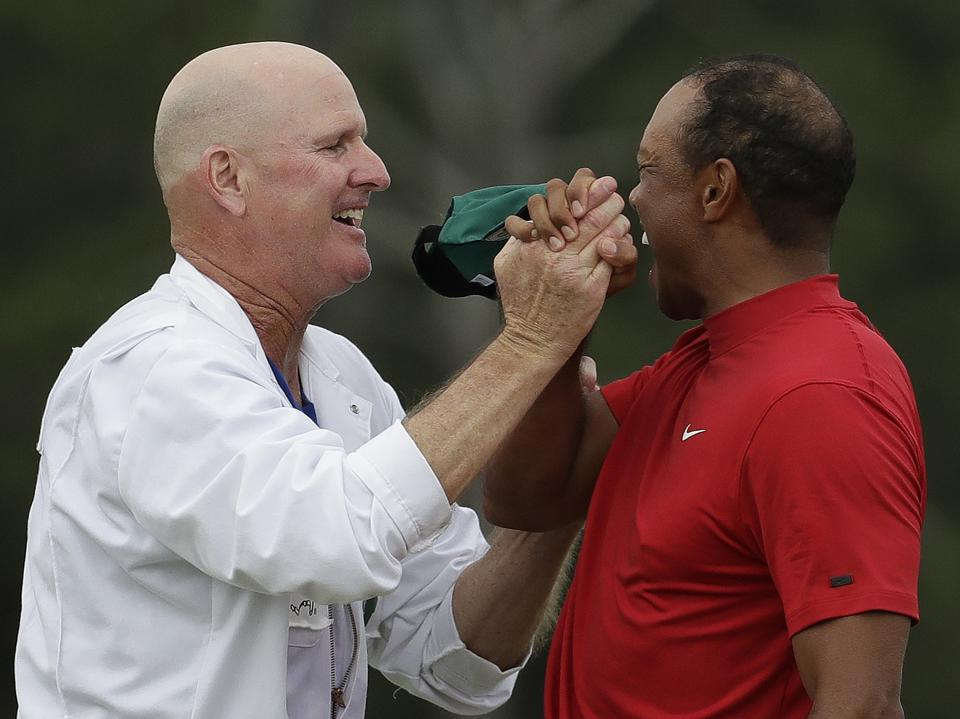 Masters Victory Was A Reward For Some Associates Who Never Lost Faith In Tiger Woods