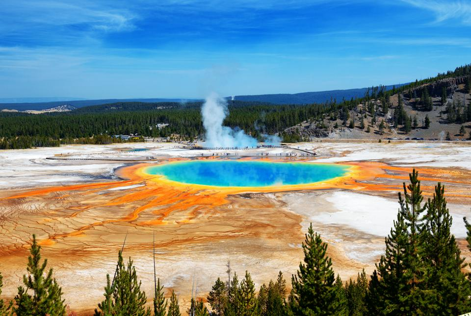 The yellowstone supervolcano is slowly dying the grand prismatic springs of yellowstone national park shutterstock sciox Gallery