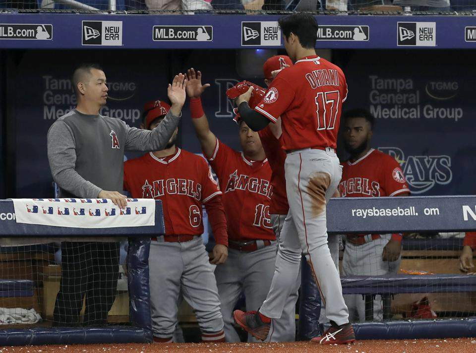 No Power Outage For Shohei Ohtani, Who Hits For The Cycle Against Tampa Bay