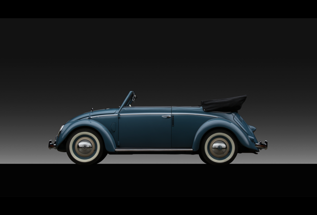 1952 Volkswagen Karmann Cabriolet Pg 3