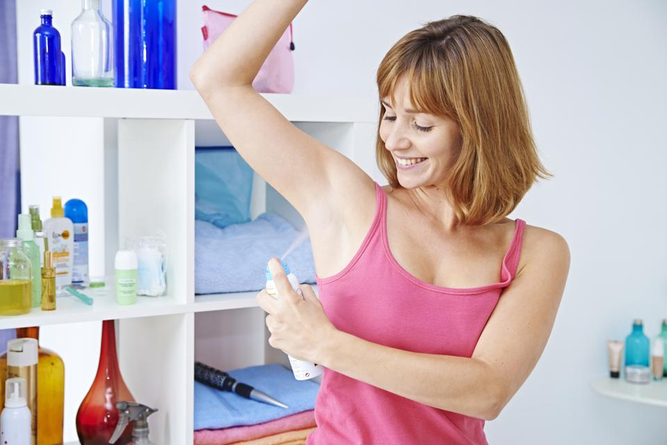how to make armpits not sweat