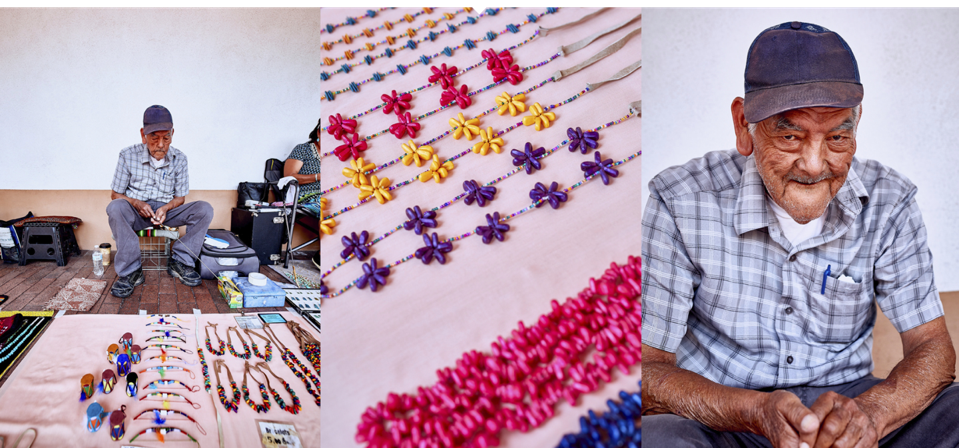The Native American Artisans Program supports members of New Mexico's tribes and pueblos and helps them sell their handmade crafts at the historic Palace of the Governors.