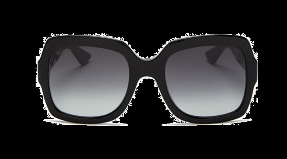 Women's Oversized Gradient Square Sunglasses, 54mm