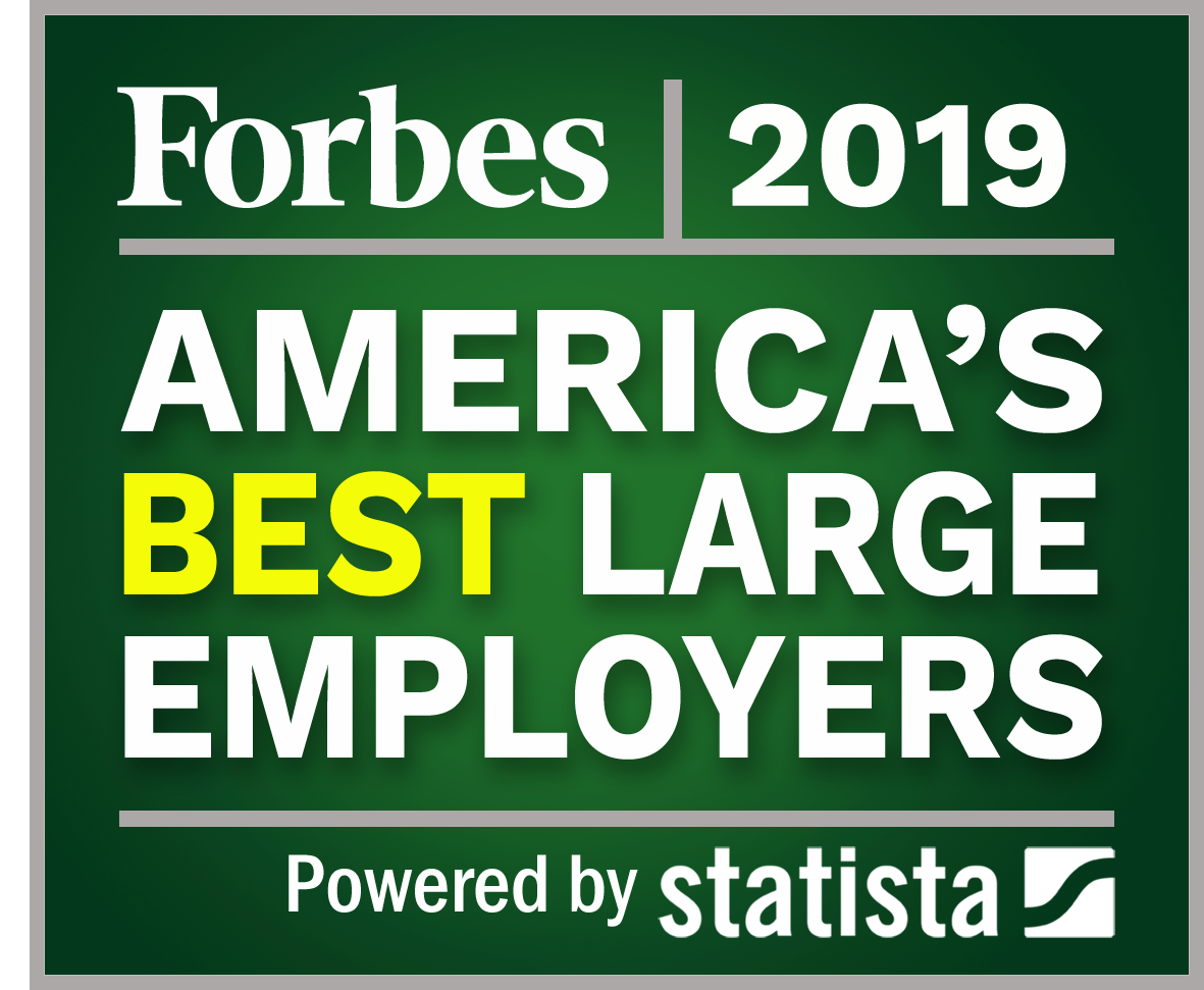 Forbes Best Companies To Work For 2020 America's Best Large Employers